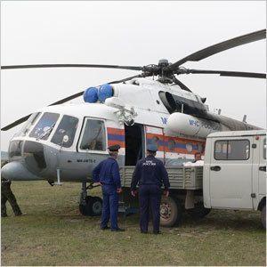 У Службы спасения появился вертолет