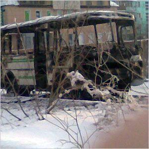 8 марта - день горящих автобусов