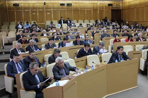 Депутаты Гордумы приняли участие в парламентских слушаниях в Ил Тумэне