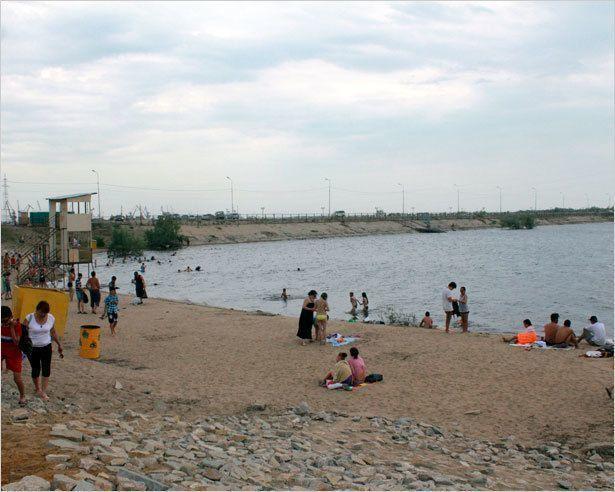Можно ли купаться на городских пляжах?