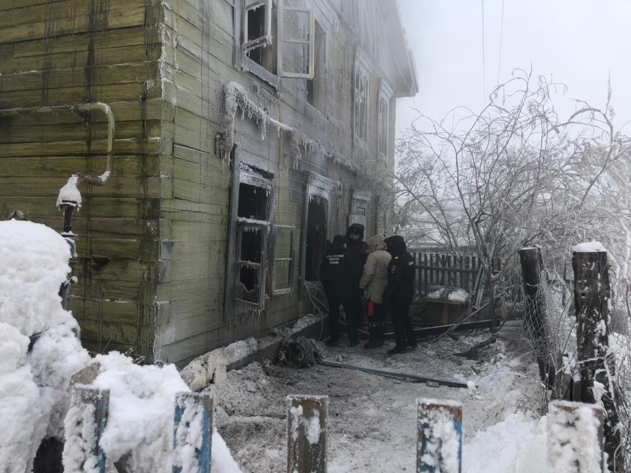 Управа Сайсарского округа Якутска окажет помощь погорельцам с улицы Шевченко