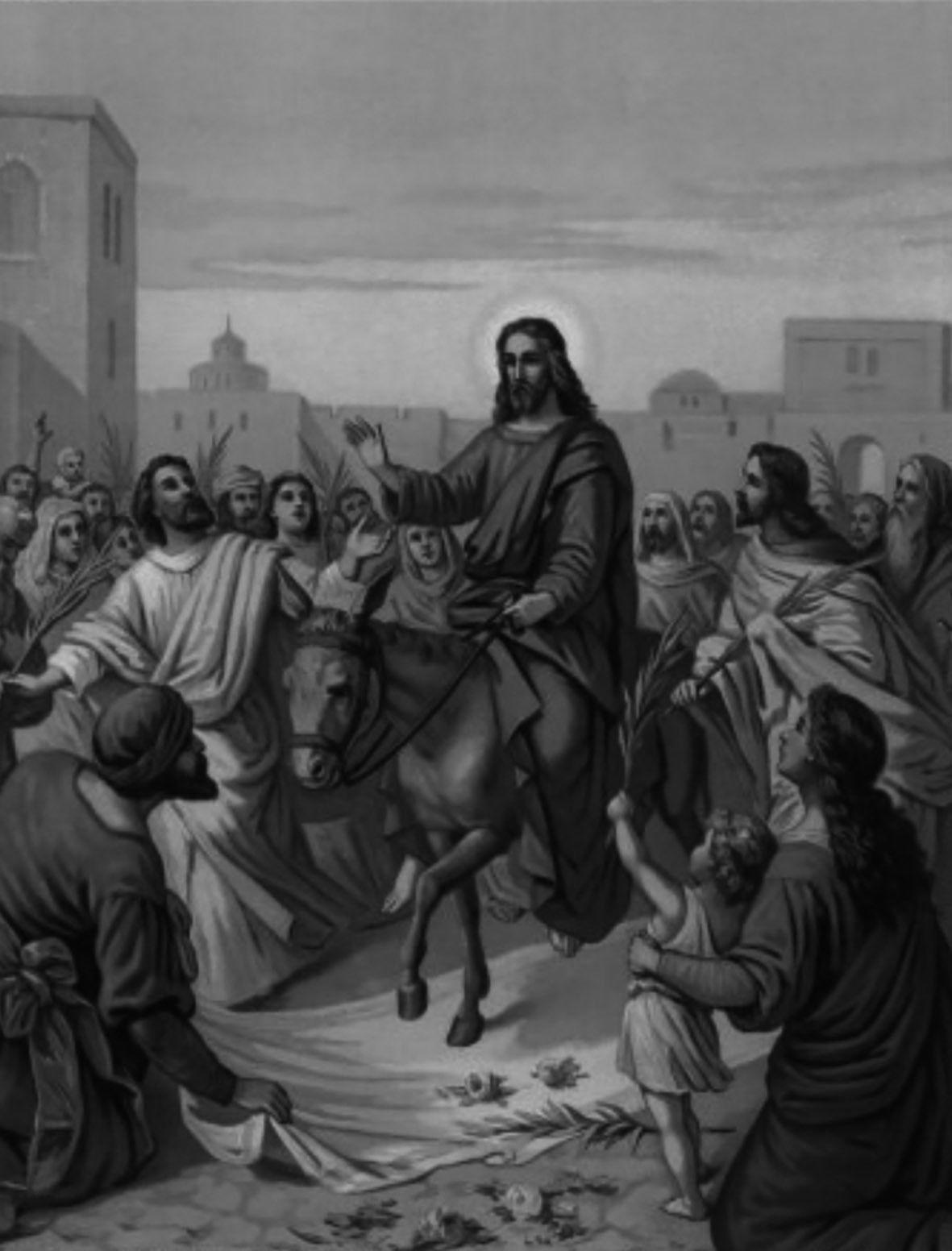 Вербное воскресенье и Благовещение: исполнение пророчеств