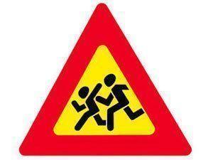 Осторожно - на дорогах дети!