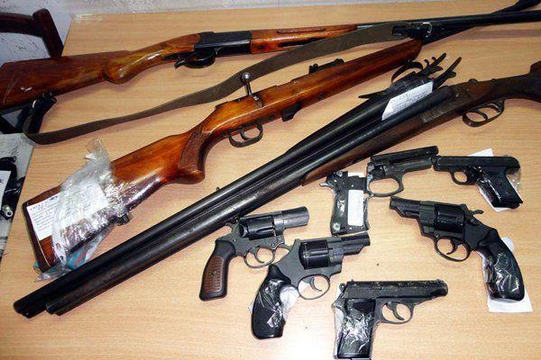 Росгвардия против нелегального оружия