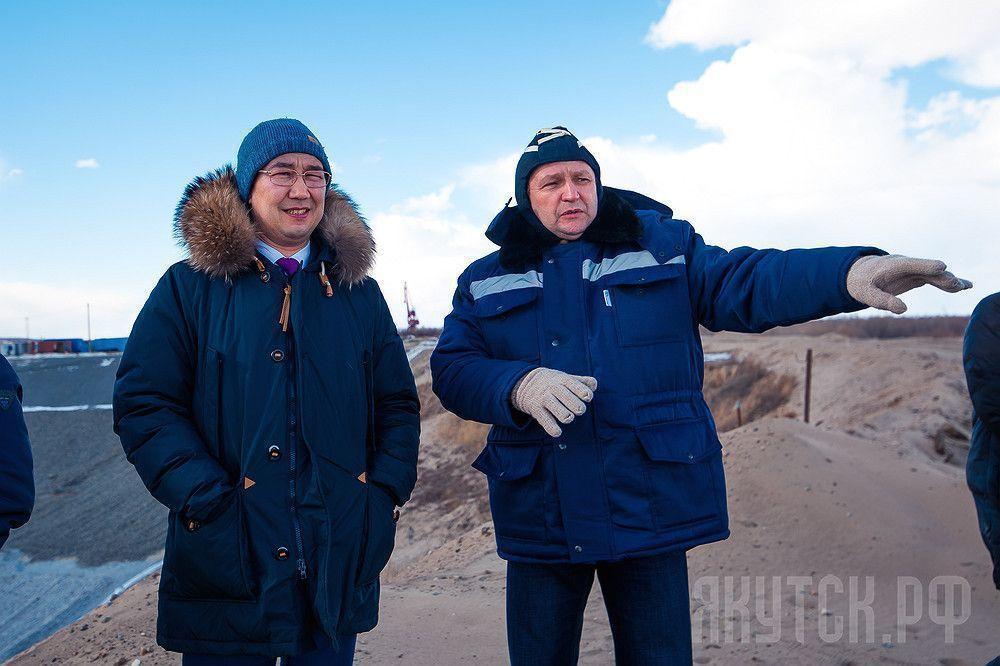 Глава посетил территорию строительства нового водозабора