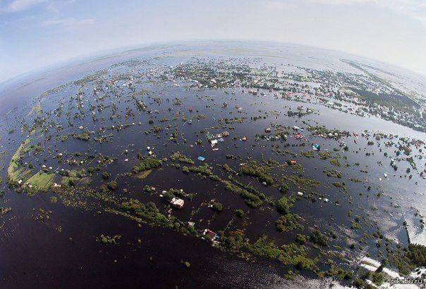 По мнению уральских ученых Якутия может полностью уйти под воду через 50 лет