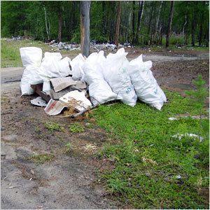 Маганский освобождают от мусора