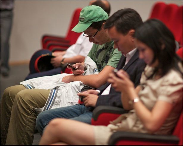Притягательность мобильных игр
